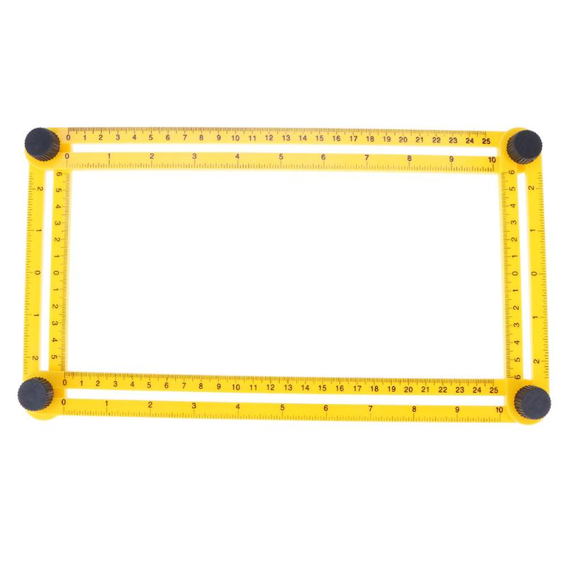 Premium Foldable Multi Angle Protractor Ruler
