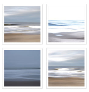 Quadriptych The language of sea and sky customizable size & print . Auction  ( Ouiii app)