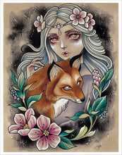 Load image into Gallery viewer, Fox Goddess