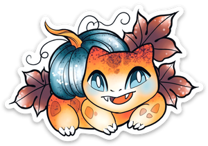 A Batch of Bulbas Sticker Pack