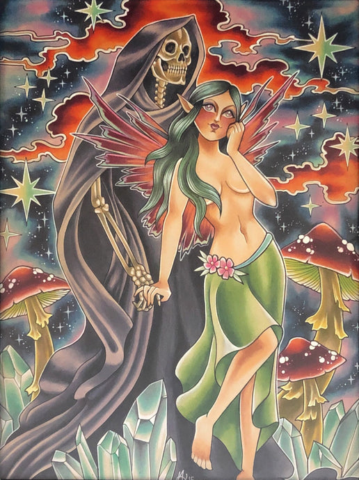 Reaper and the Fairy - Original