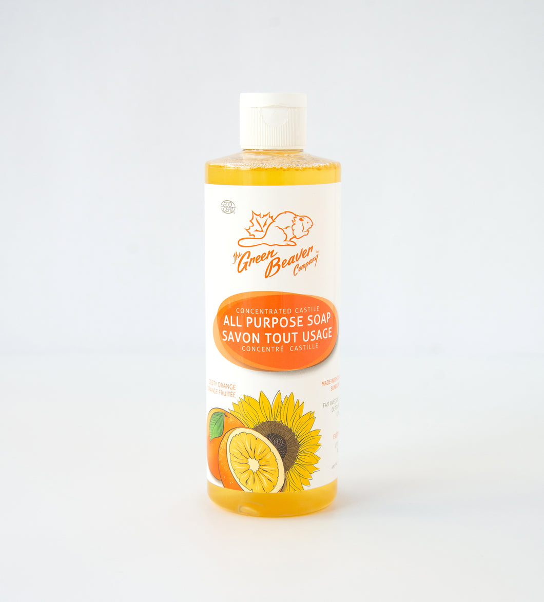 Zesty Orange Castile Liquid Soap