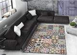 PATCHWORK CLASSIC BLUE - Rug 5 SIZES