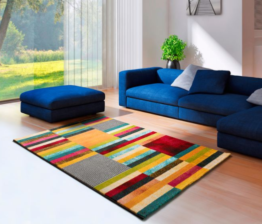 ABSTRACT STRIPE RUG 4 SIZES