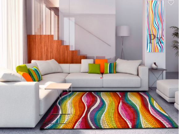 MULTI WAVE RUG - 3 SIZES