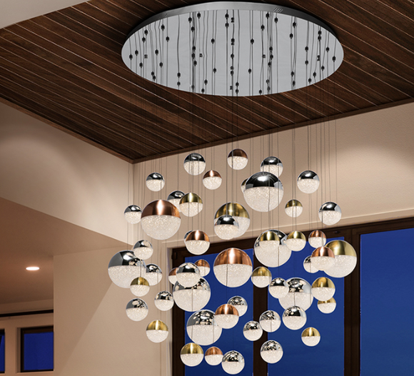 CONSTELLATION - 55 LIGHT CEILING LAMP