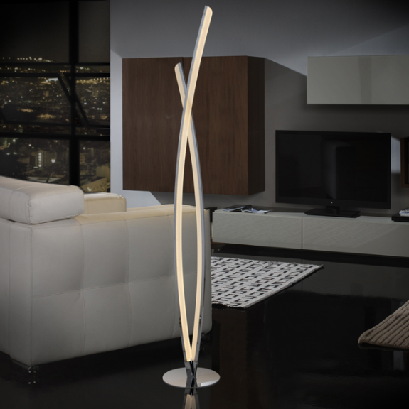 DEMI CURVE - Floor Lamp