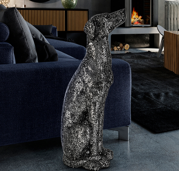 GREYHOUND DOG - DECORATIVE FIGURE