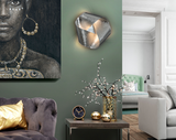 SILVER INFINITY - Wall Light (Silver Leaf finish)