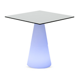 Illuminated Square Dining table