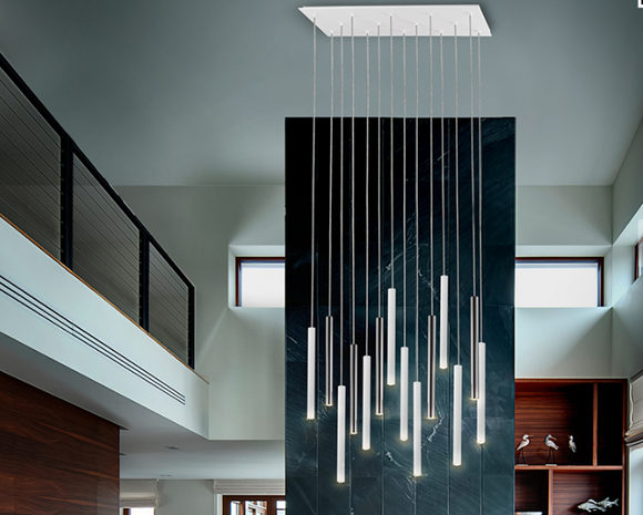 TUBULAR BELLS XL - Suspended Lighting Centre Piece