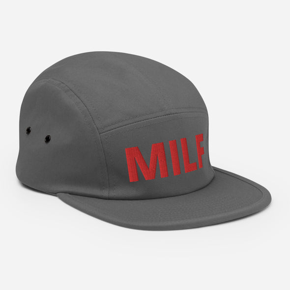 Mama in Red MILF Five Panel Cap