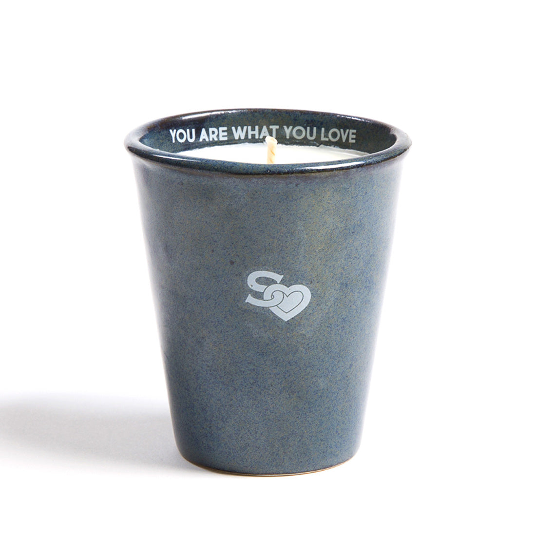 HW Scented Indigo Candle Cup by Provider Store