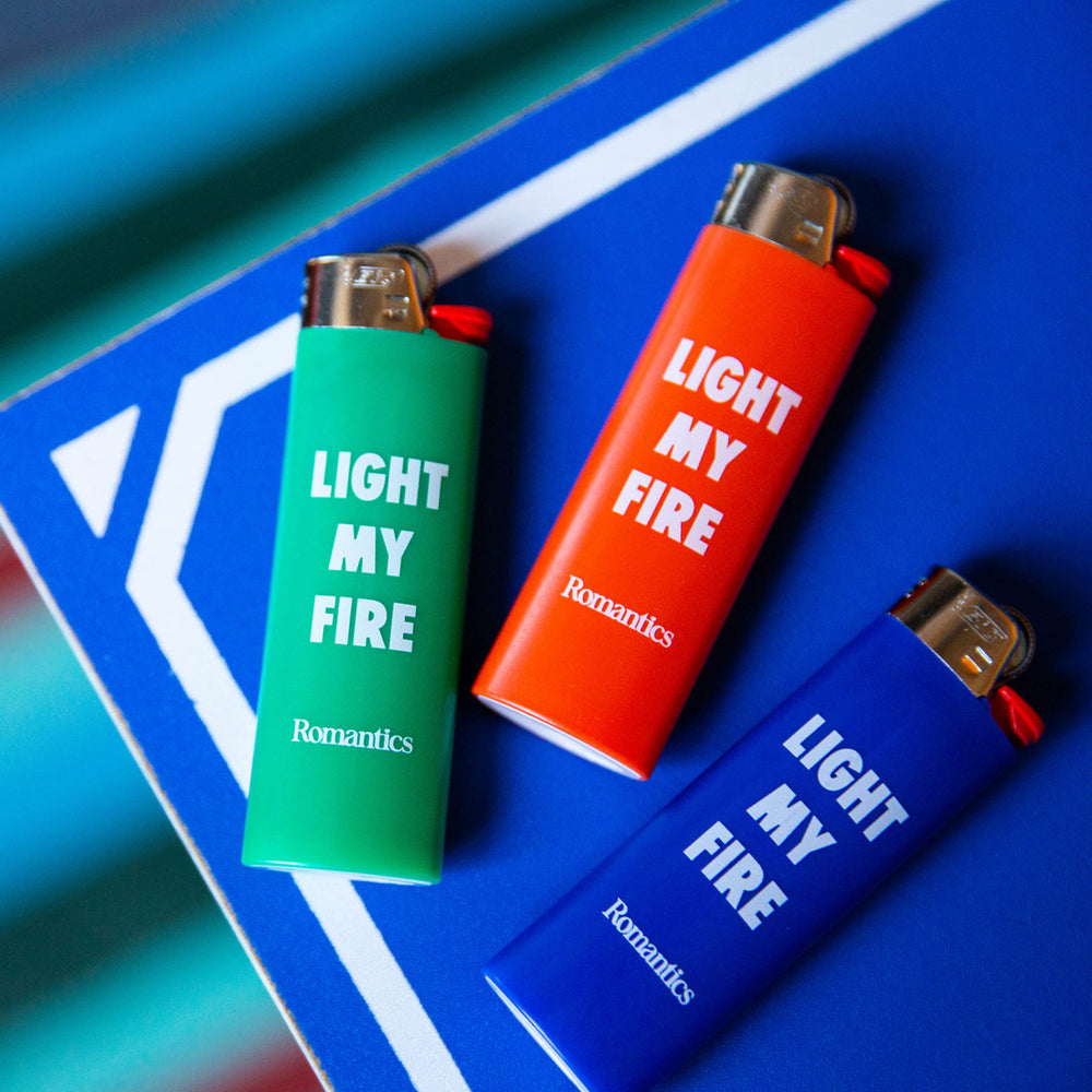 Romantics x Incu Bic Lighter