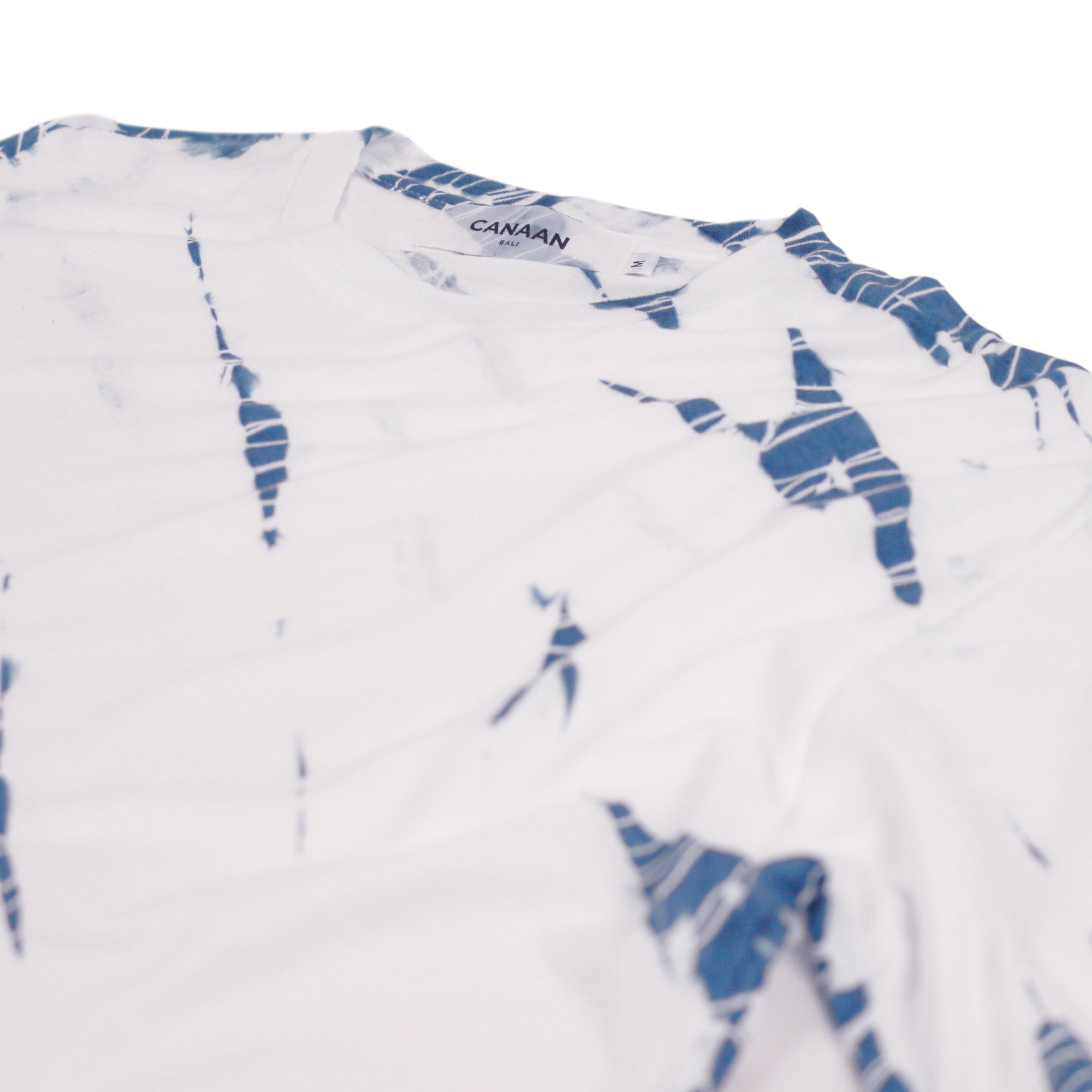 Shibori Tie Dye T-Shirt Light Indigo