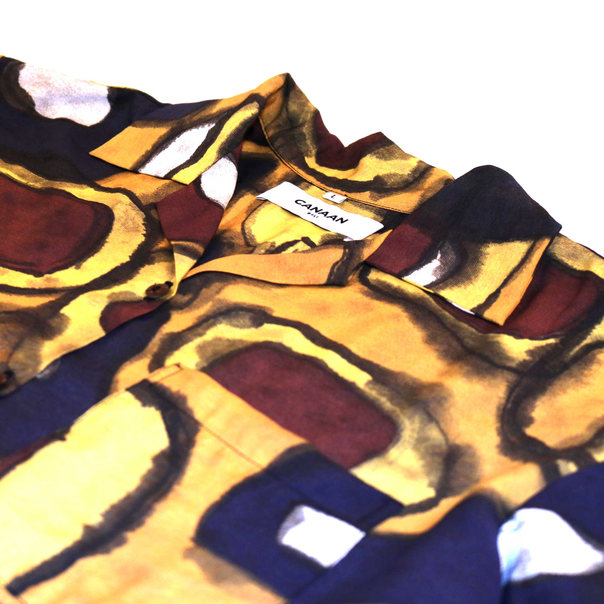 Bali Tribal Shirt Yellow