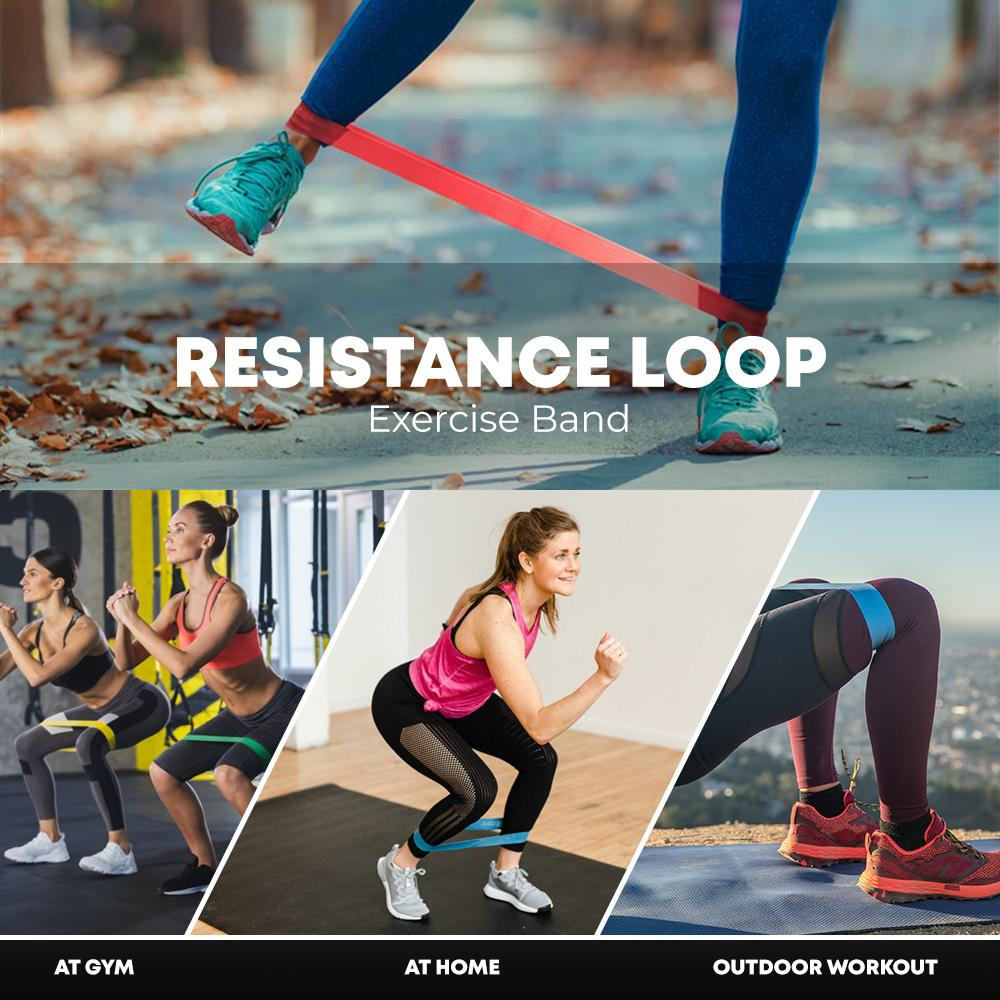 ResistanceLoop™ Exercise Band Work Out At Home