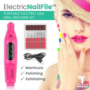 ElectricNailFile™ Portable Electric Nail Drill Machine Kit