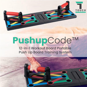 PushUpBoard™ 12-in-1 Portable Power Press Push Up Board Training System