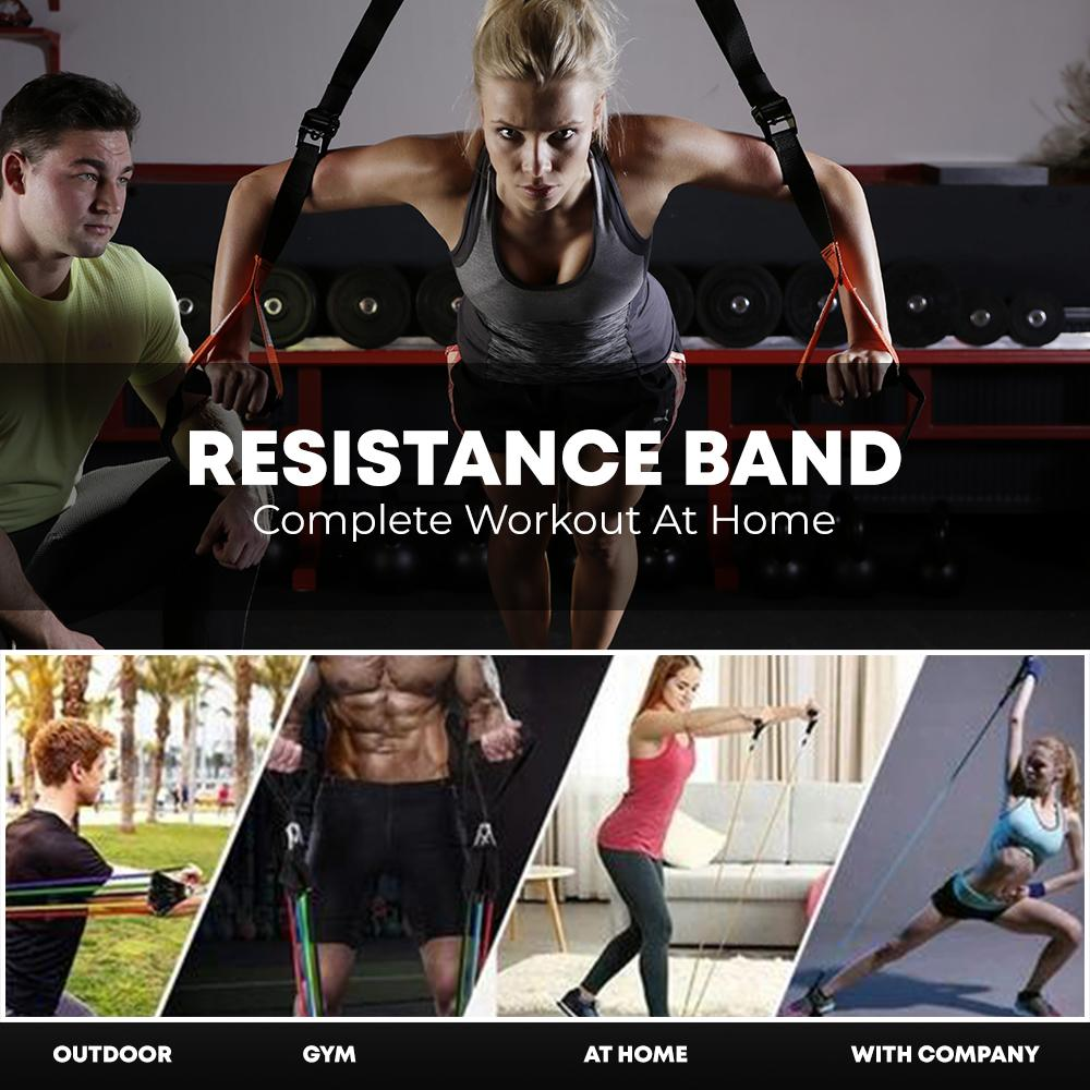 ResistanceBand™ Complete Workout At Home