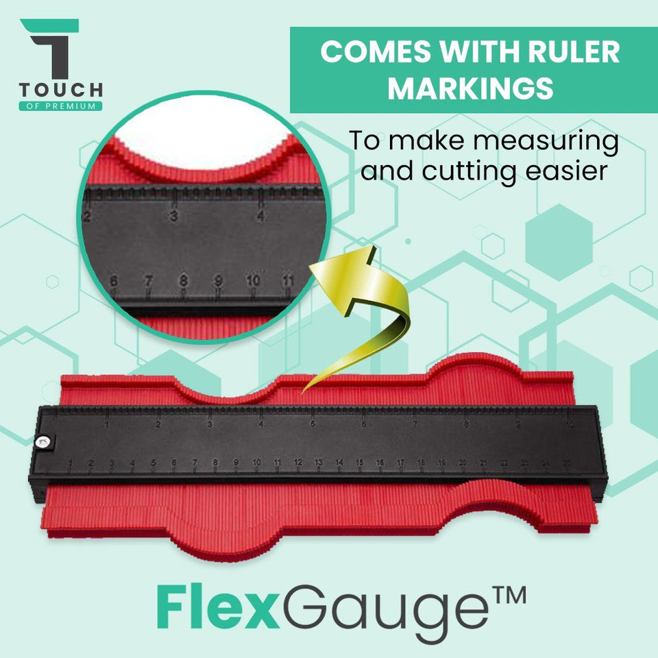 ContourGauge™ Duplication Gauge Flex Shape