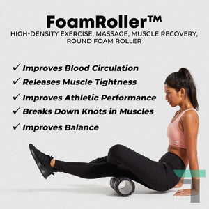FoamRoller™ Trigger Point Massage Muscle Roller