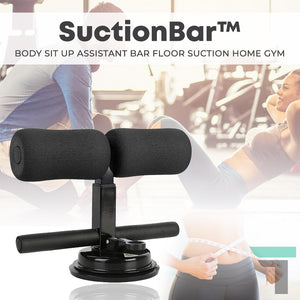 SuctionBar™ Body Sit Up Assistant Bar Floor Suction Home Gym