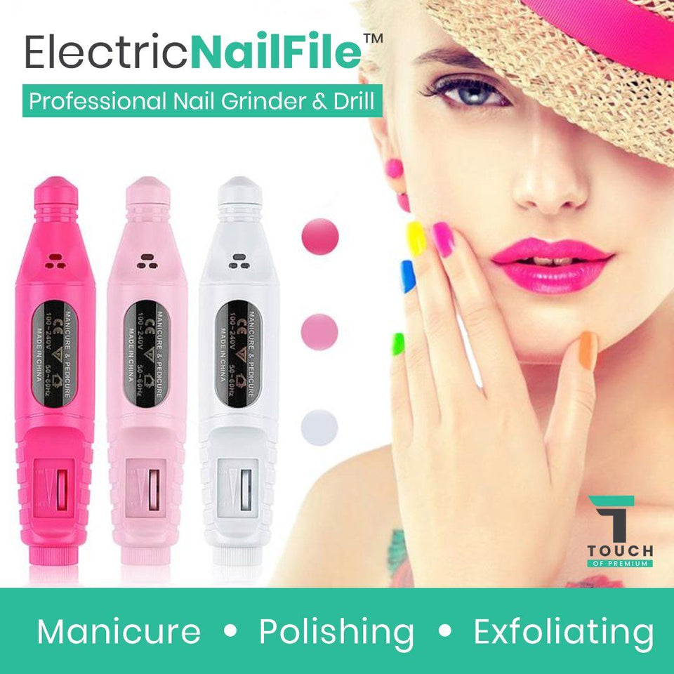 ElectricNailFile™ Professional Nail Grinder & Drill