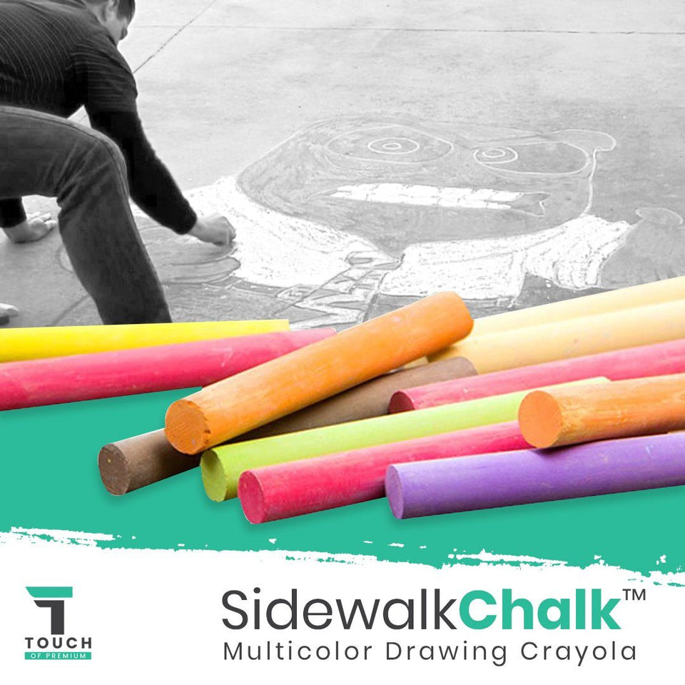 SidewalkChalk™ 10 x Multicolor Drawing Crayola