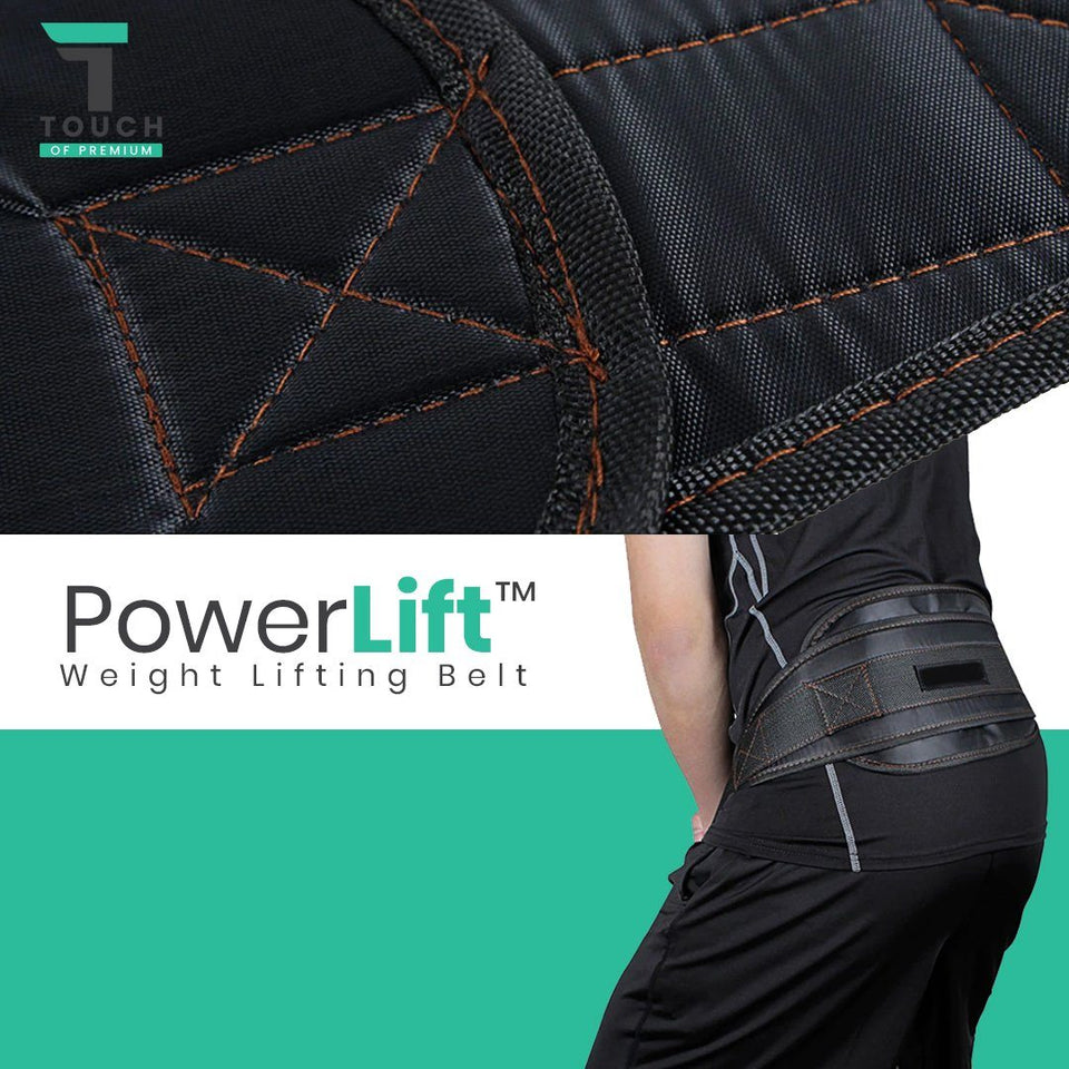 PowerLift™ Gym Exercise Weightlifting Belt