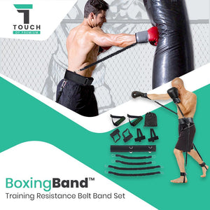 BoxingBand™ Shadow MMA Training Resistance Band Kinetic Set