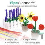 PipeCleaner™ DIY Chenille Pipe Cleaner Craft Stems