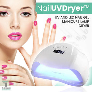 NailUVDryer™ UV and LED Nail Gel Manicure Lamp Dryer