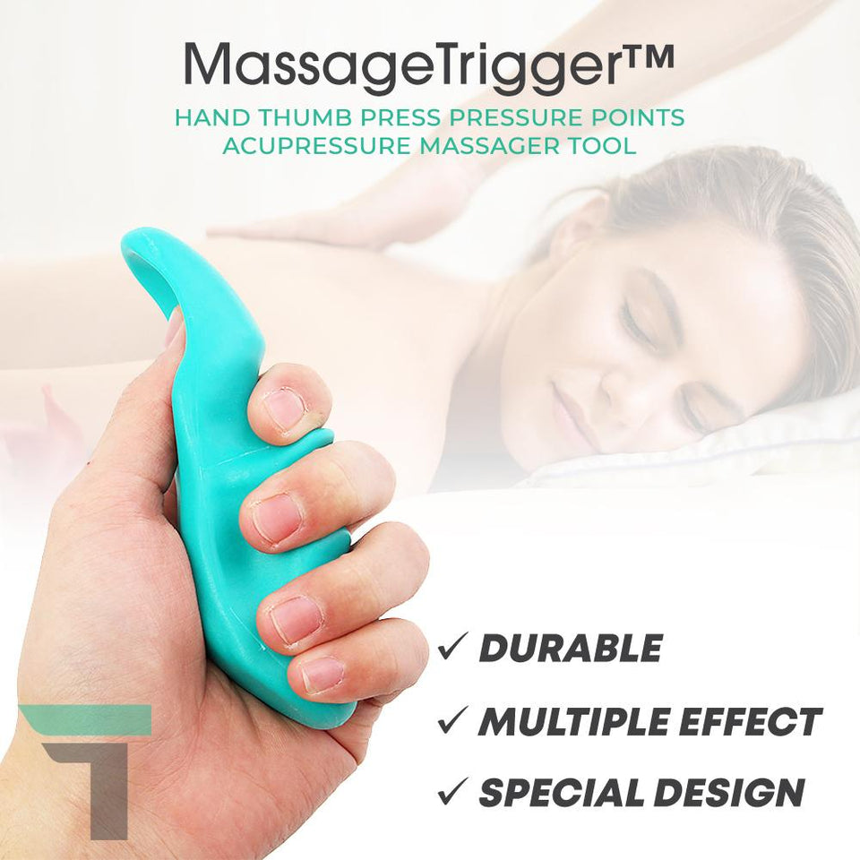MassageTrigger™ Hand Thumb Press Pressure Points Acupressure Massager Tool
