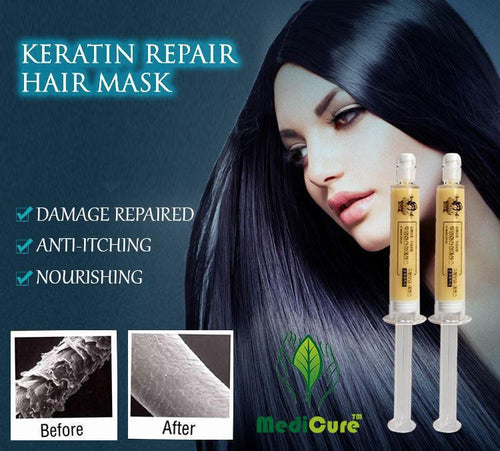 * RECOMMENDED * Keratin Repair Serum