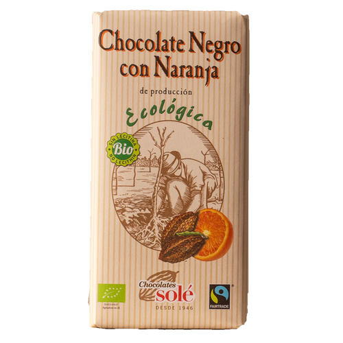 Chocolate Eco naranja