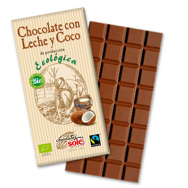 Chocolate Eco leche y coco