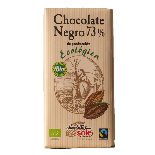 Chocolate Eco Negro 73%