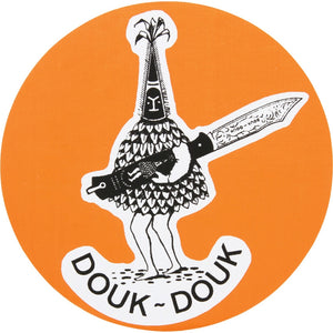 Douk Douk Sticker | The Axe Shoppe | The Sport of Axe Throwing