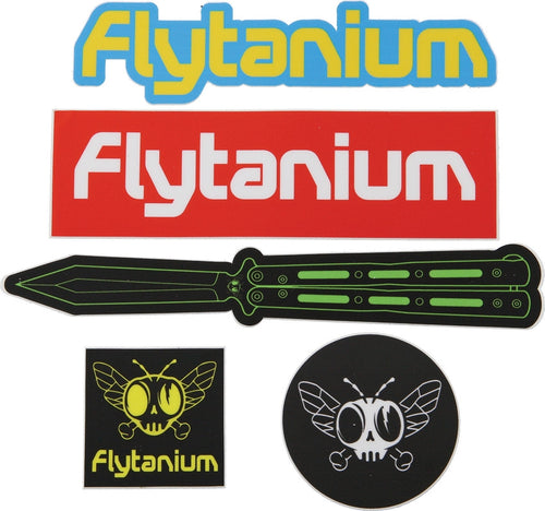 Flytanium Stickers | The Axe Shoppe | The Sport of Axe Throwing