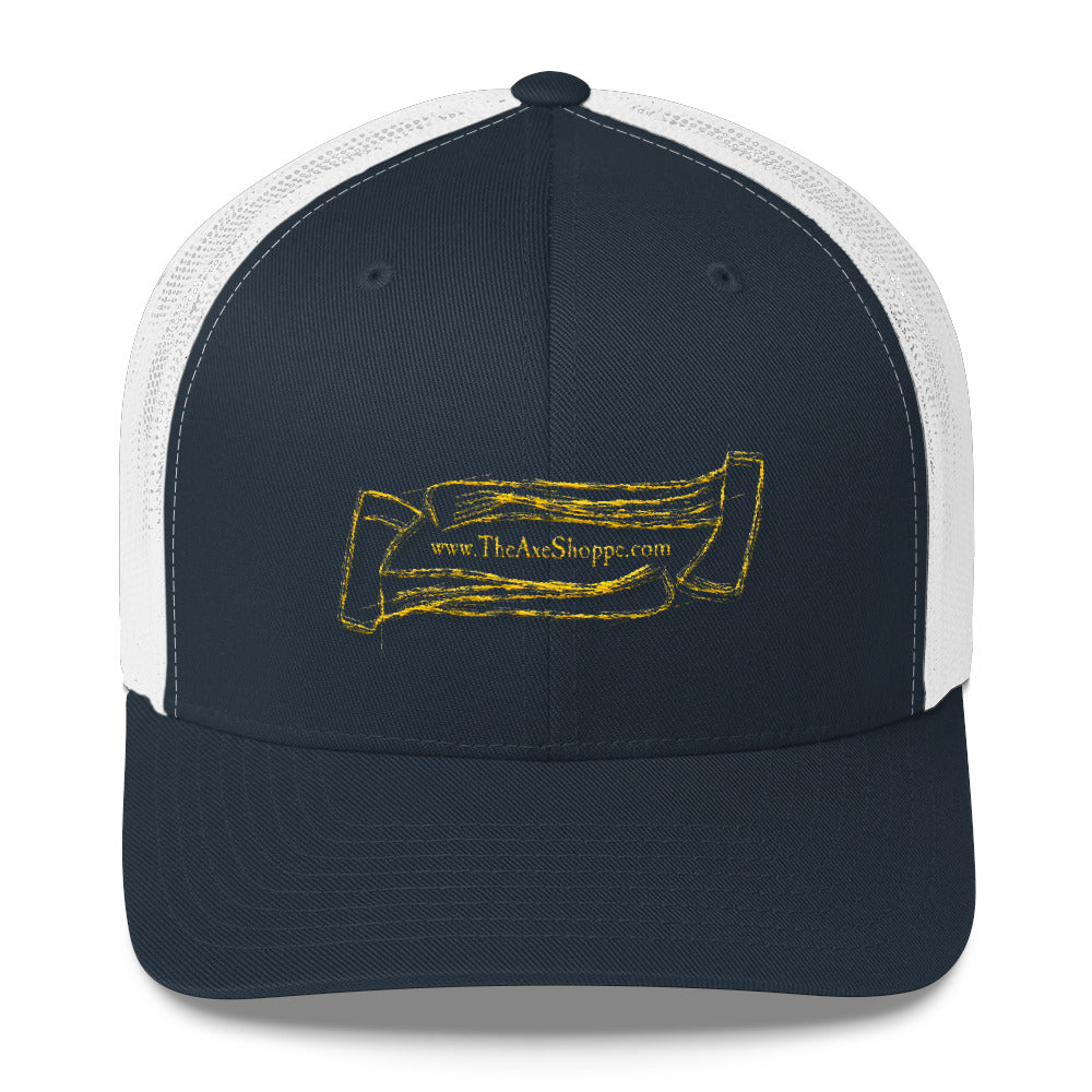 The Axe Shoppe Hand Drawn Trucker Cap