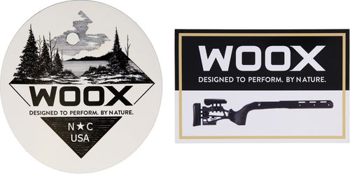Woox Stickers | The Axe Shoppe | The Sport of Axe Throwing