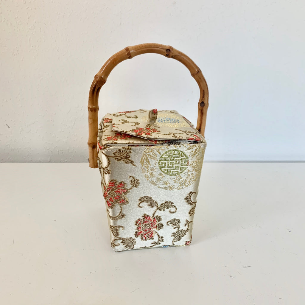 Vintage Chinese Take-Out Box Handbag
