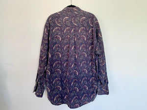 Vintage Paisley Button Up Shirt