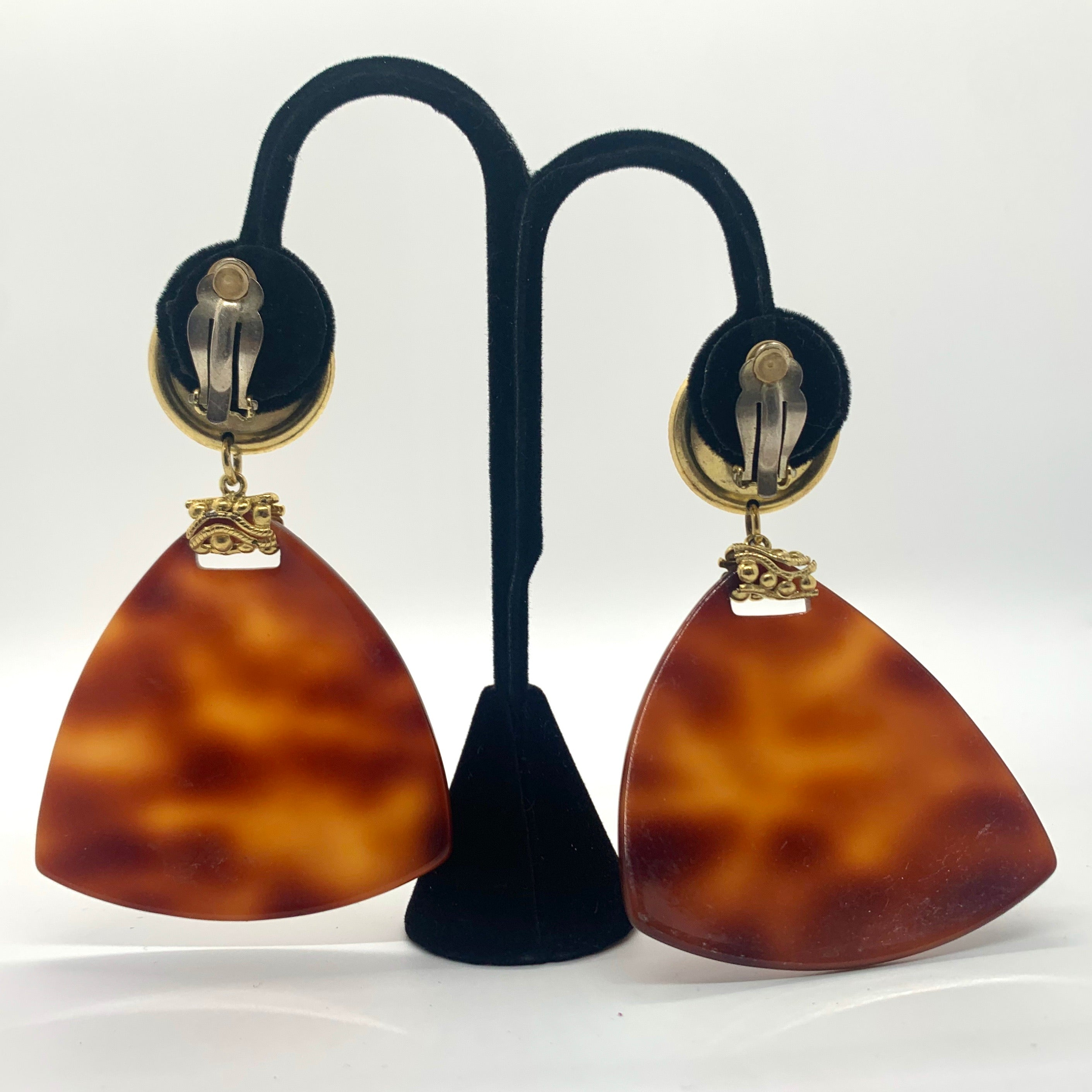 Vintage Statement Clip-on Earrings