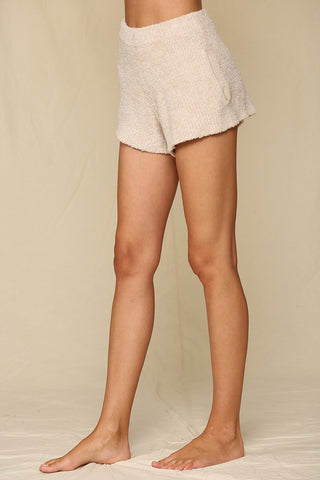 Kit Taupe Knit Shorts