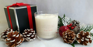 Christmas Snow Fairy Candle