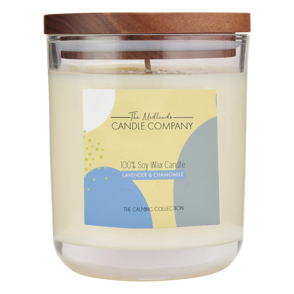 LAVENDER & CHAMOMILE CANDLE