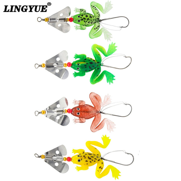 New Fishing Frog Lure Set 4 PCS/SET - gkstocks