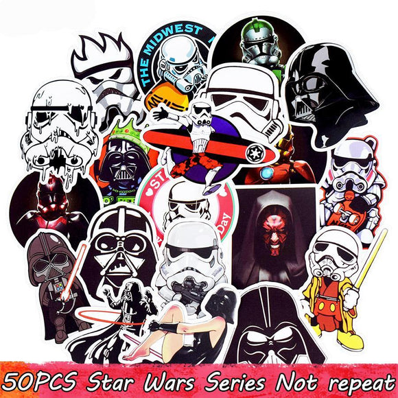 Star Wars Stickers - gkstocks